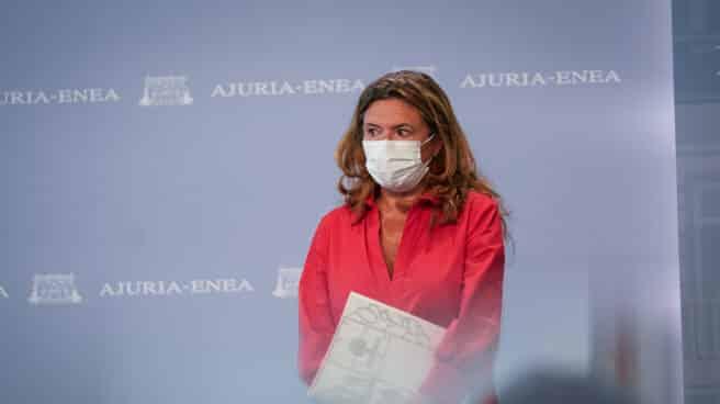 La consejera de Salud en Euskadi, Gotzone Sagardui