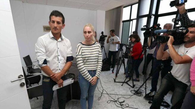 Los padres de Yeremi Vargas, en 2018.