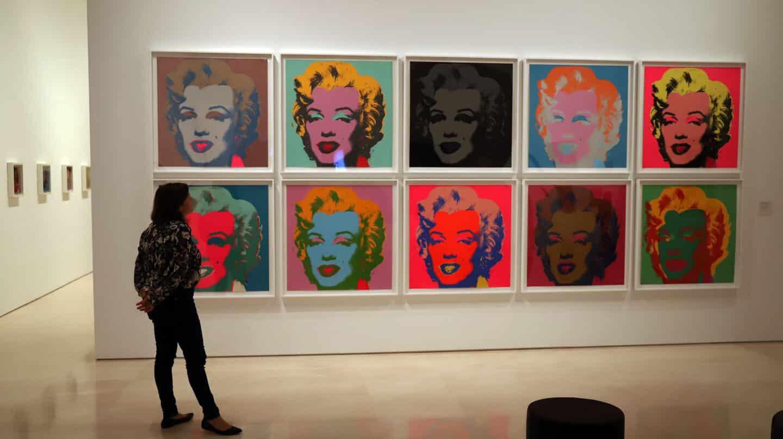 'Díptico de Marilyn', 1962