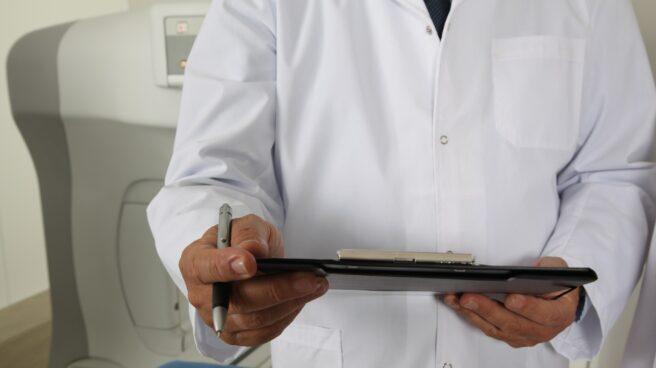 Imagen de recurso de un médico.