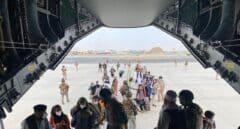 El segundo avión militar español sale de Kabul destino Dubái con 110 pasajeros a bordo