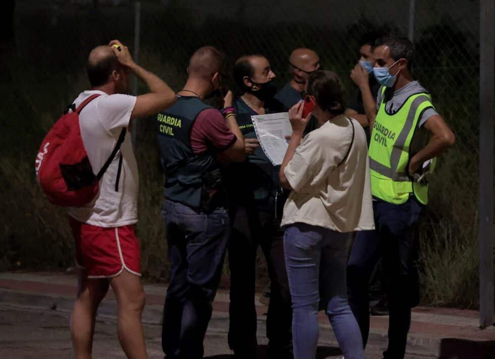 Un edificio de tres alturas se ha derrumbado este miércoles en una urbanización de la localidad castellonense de Peñíscola