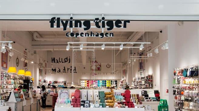 Tienda de Flying Tiger Copenhagen en el CC Plaza Río 2 de Madrid.
