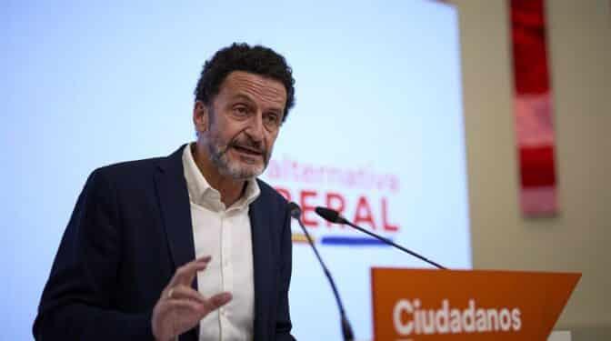 Edmundo Bal (Cs) descarta un adelanto electoral en Andalucía y Castilla y León