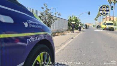 Muere una mujer atropellada por una furgoneta en un paso de cebra en Sevilla