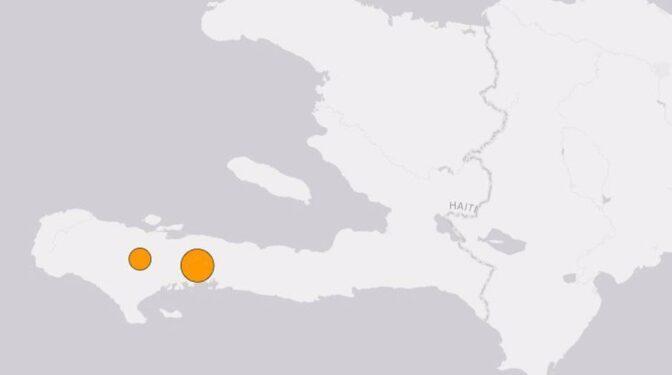 Un fuerte seísmo de magnitud 7,2 sacude la costa de Haití