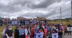 Una multitud aclama al preso de ETA Aitor Fresnedo al abandonar la cárcel tras 25 años
