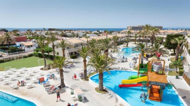 Hotel Globales Los Delfines, en Menorca.