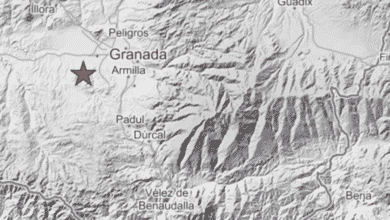 Un fuerte terremoto de magnitud 4,6 sacude de nuevo a Granada