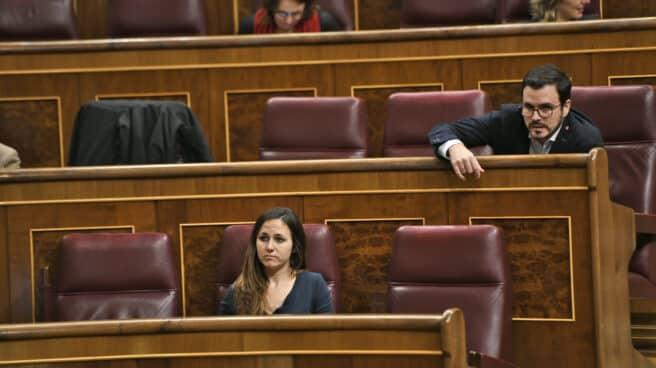 Los ministros Ione Belarra y Alberto Garzón, en una imagen de archivo.