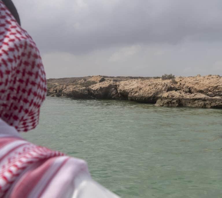 Manglares y aguas turquesas, 'una perla' en la frontera más hostil