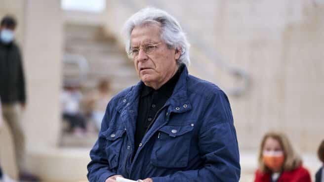 El eurodiputado Javier Nart, durante un acto electoral de Ciudadanos (Cs).