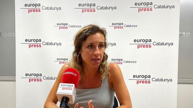 La diputada de la CUP, Laia Estrada.