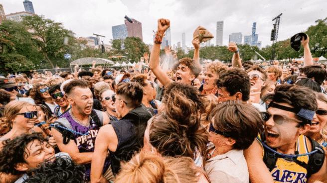 Imagen del festival Lollapalooza 2021.