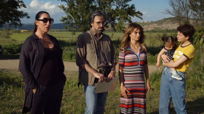 Fotograma de 'Madres paralelas', la nueva película de Pedro Almodóvar.