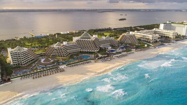 Imagen del Meliá Paradisus Cancún.