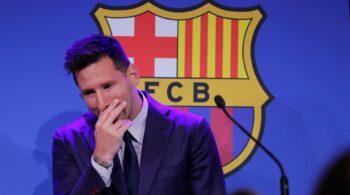 """Messi: """"He hecho todo lo posible por quedarme en el Barcelona"""""""