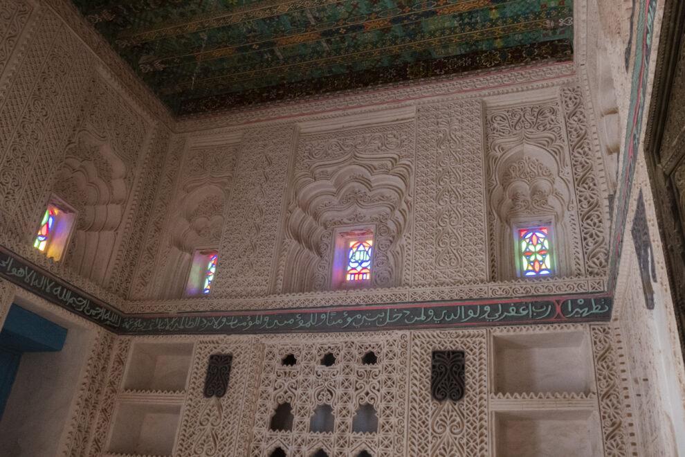 Interior de la Casa de Refai, una joya construida por un comerciante de perlas local