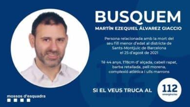 Encuentran muerto al hombre que huyó tras matar a su hijo en un hotel de Barcelona