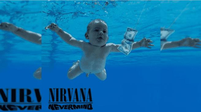 Portada de 'Nevermind', el álbum más famoso de Nirvana