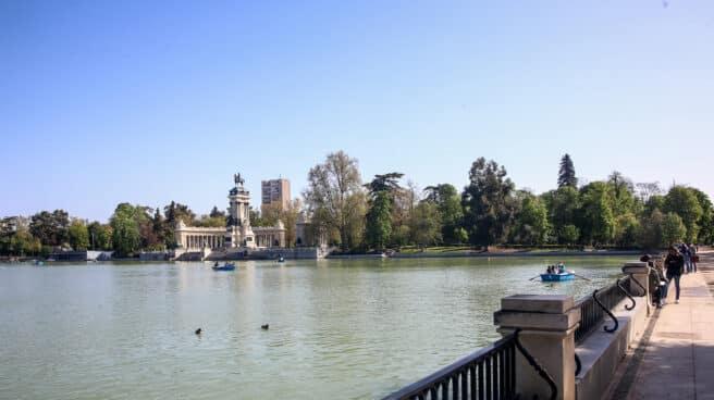 Parque de El Retiro, en Madrid.