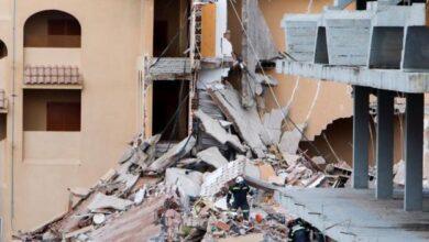 """El edificio derrumbado en Peñíscola tenía 30 años y  colapsó """"como un dominó"""""""