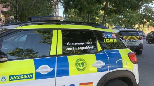 Vehículo de la Policía Local de Alcorcón.