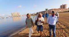 """Ribera propone crear un """"cinturón verde"""" en el entorno del Mar Menor"""