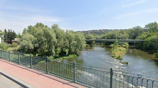 Río Ter, a su paso por Girona.