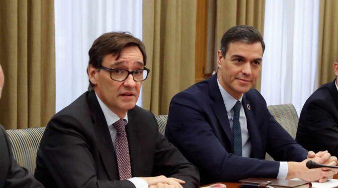 Sánchez espera que el PSC aborde en septiembre el relevo de Iceta por Illa