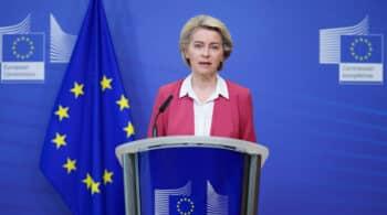 Von der Leyen reclama una respuesta común del G7 para acoger a refugiados afganos