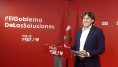 """Andueza opta a sustituir """"con las manos libres"""" a Mendia al frente del PSE"""