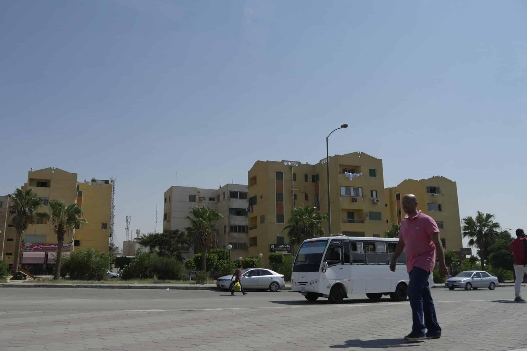 Barrio del extrarradio de El Cairo en el que vive la madre de Mohamed Atta.
