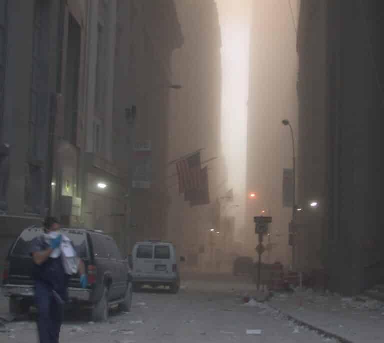 Nuevas imágenes del 11-S reveladas por el Servicio Secreto de EEUU