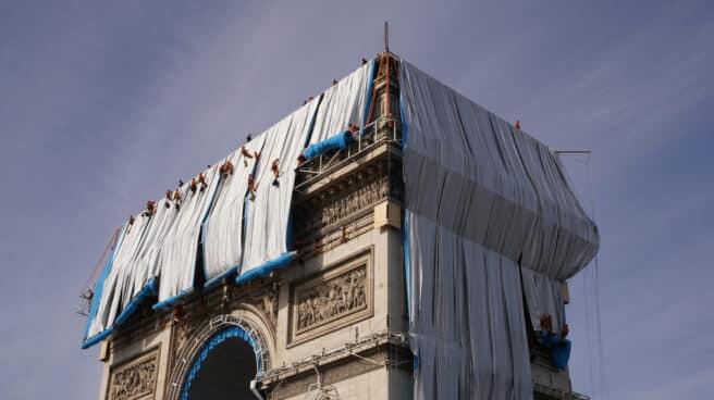 El Arco del Triunfo como un regalo, el sueño póstumo de Christo Vladimirov