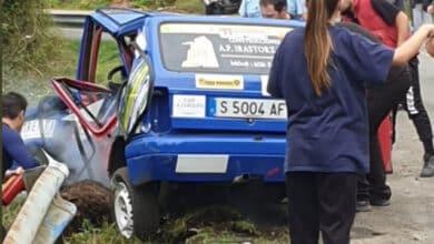 Fallecen dos participantes en el Rallye Villa de Llanes