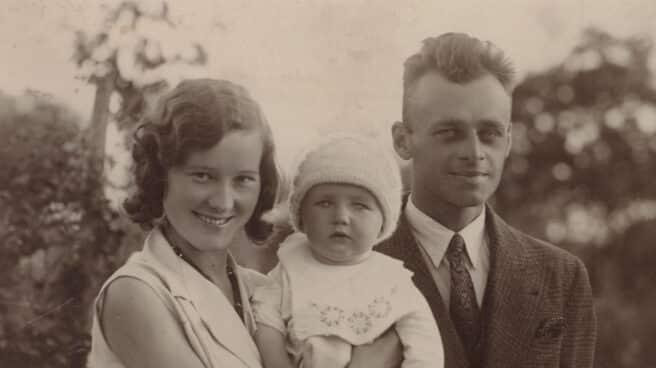 Witold Pilecki, junto a su mujer Maria Ostrowska, y su hijo Andrzej
