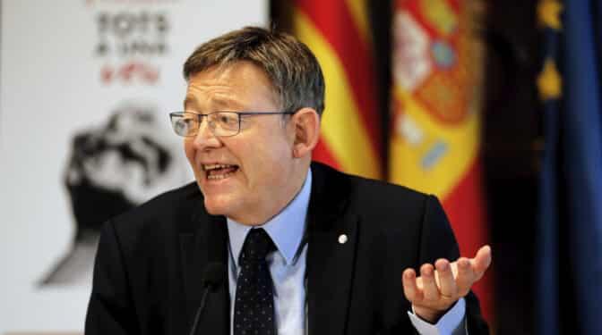 Ximo Puig arremete contra los bajos impuestos de Madrid