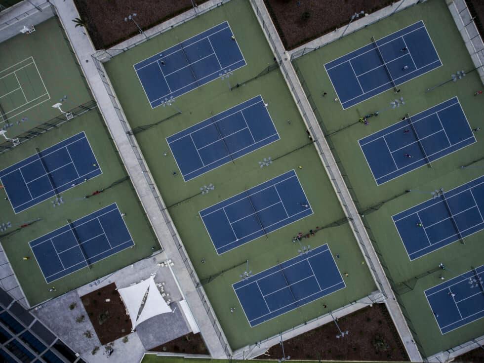 La academia de Rafael Nadal tiene 27 pistas de tenis
