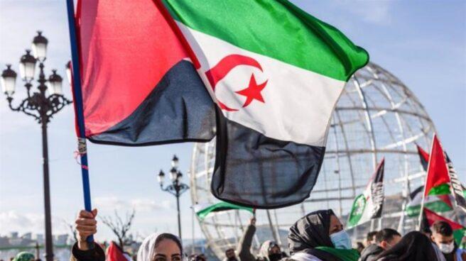Protesta por la autodeterminación del Sáhara Occidental en San Sebastián