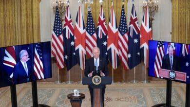 EEUU, Reino Unido y Australia acuerdan un histórico pacto de defensa frente a China