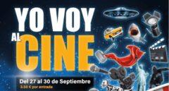 """""""Yo voy al cine"""" la campaña para disfrutar del séptimo arte por 3,50€"""