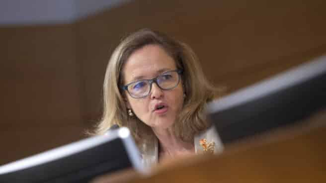 La vicepresidenta primera y ministra de Asuntos Económicos y Transformación Digital, Nadia Calviño