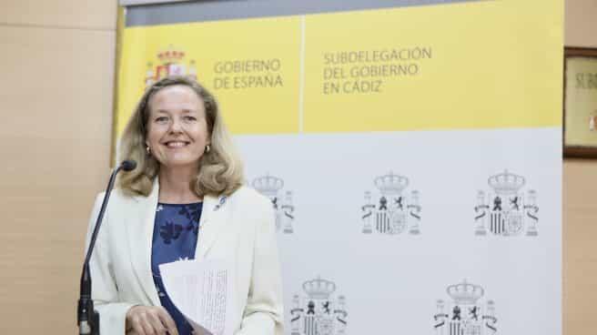 La vicepresidenta para Asuntos Económicos y Transformación Digital del Gobierno de España, Nadia Calviño.