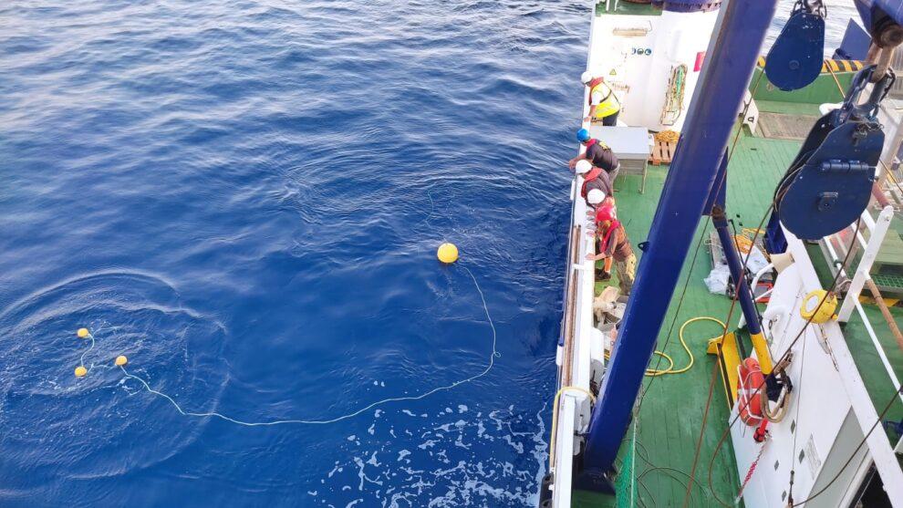 El buque Ramón Margalef del Instituto Español de Oceanografía (IEO)-CSIC