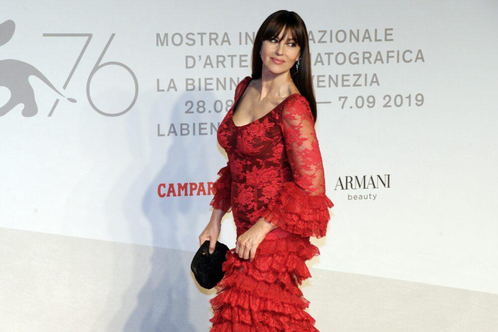 Monica Bellucci, en el Festival de Venecia de 2019.