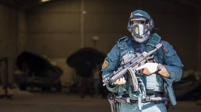 Guardia Civil en una operación contra el narcotráfico.