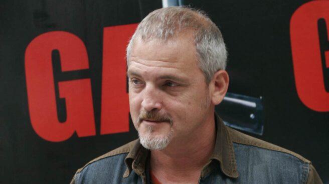 El actor Jordi Rebellón, durante la presentación de una película.