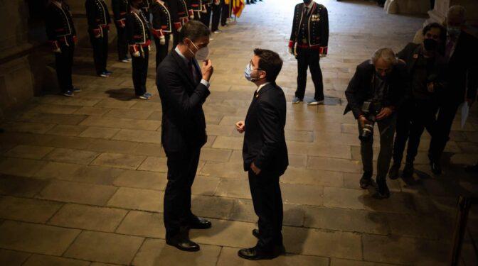 "Moncloa, eufórica con Aragonès: ""Ha crecido medio metro como líder"""