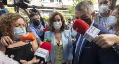 Vítores y gritos de «¡presidenta, presidenta!» a Ayuso en Madrid